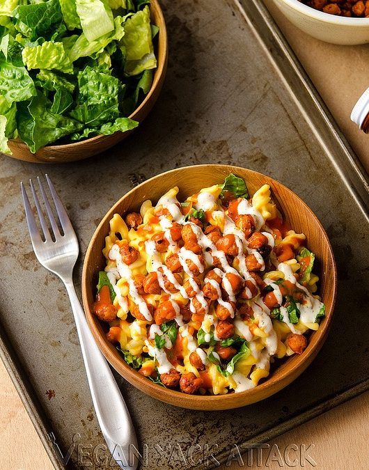American Buffalo Chick Pea Mac n' Cheese