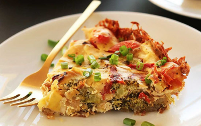 SIMPLE TOFU QUICHE